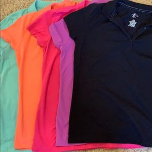 🧨 5 for $20 buttoned polos small